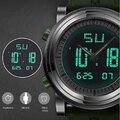 Moda SINOBI Reloj de Los Deportes de Los Hombres A Prueba de agua LED Militar Reloj Resistente A los Golpes Del Reloj Digital de Cuarzo Horas Relogio masculino
