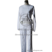 Star Wars Cosplay Padme Amidala Costume New White Uniform Outfits Pants Halloween Fashion Party Fast Shipping Top