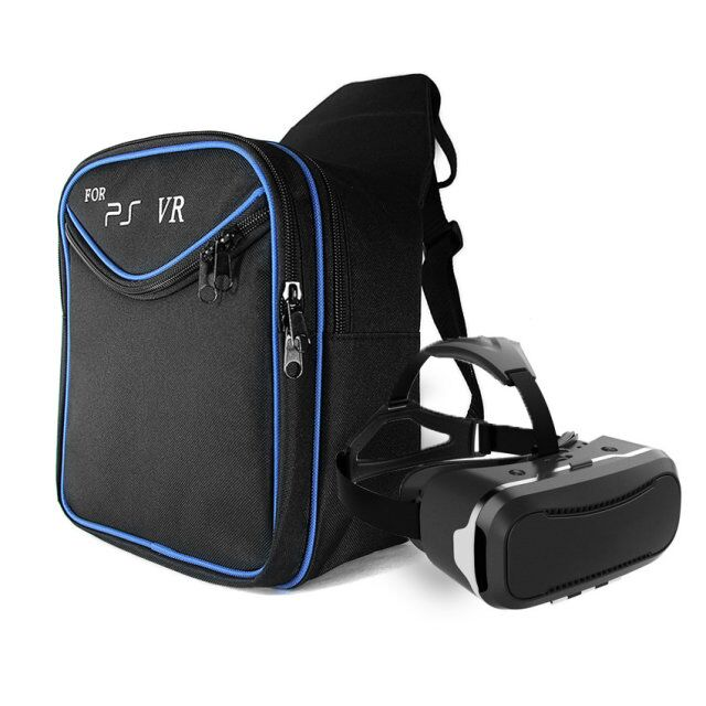 Game Accessories for PS4 & PS4 Slim/ Pro Travel Carry Bigger Case Protective Shoulder Bag For Sony PS4 VR, Playstation 4 Console