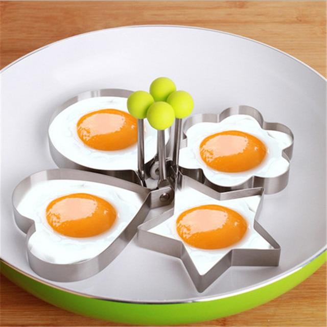 1 Pcs Thép Không Gỉ Fried Egg Khuôn Pancake Trái Cây Bánh Mì và Rau Shape Trang Trí Nhà Bếp Phụ Kiện Nhà Bếp Tiện Ích. Q