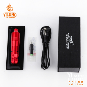 Image 4 - YILONG   Tattoo Pen Rotary Tattoo Machine Needle Cartridges with DC5.5
