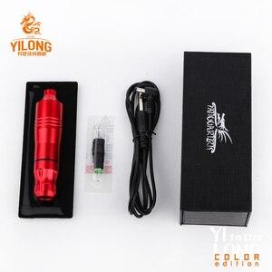 Image 4 - Yilong 문신 펜 로타리 문신 기계 바늘 카트리지 dc5.5