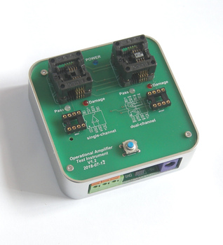 Operational Amplifier Tester Operational Amplifier Batch Testing Tool can detect 3000 pieces per day