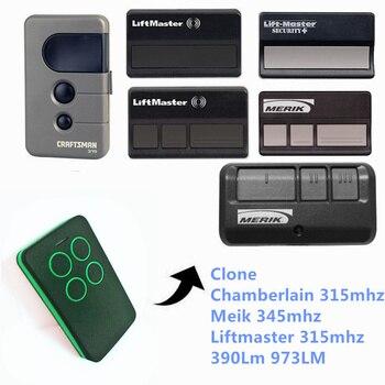 315mhz Chamberlain Craftsman 13953753 Liftmaster Merik 371lm 373lm