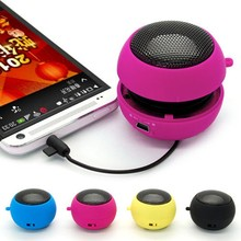 Mini Portable Hamburger Speaker Amplifier For iPod iPad iPho