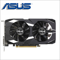 ASUS Видеокарта GTX 1050 Ti 4 ГБ 128Bit GDDR5 Графика карты для nVIDIA Geforce GTX 1050Ti использовать карты VGA сильнее, чем GTX 750