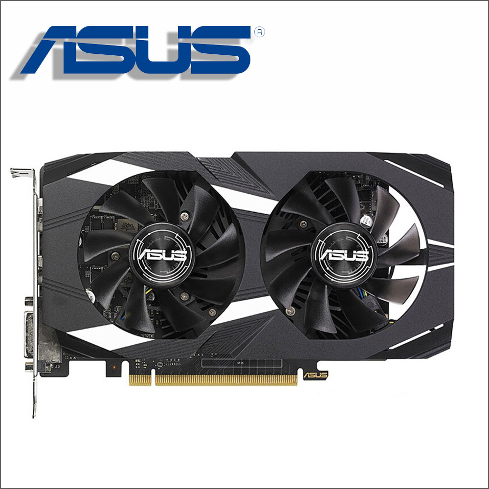 ASUS Carte Vidéo GTX 1050 Ti 4 gb 128Bit GDDR5 Cartes Graphiques pour nVIDIA Geforce GTX 1050Ti Utilisé VGA Cartes plus fort que GTX 750