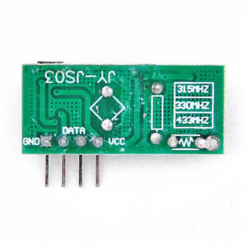 1Lot = 1 Pasang (2 Pcs) RF Modul Penerima Nirkabel & Modul Pemancar Super Biasa-Regenerasi 315/433M Hz