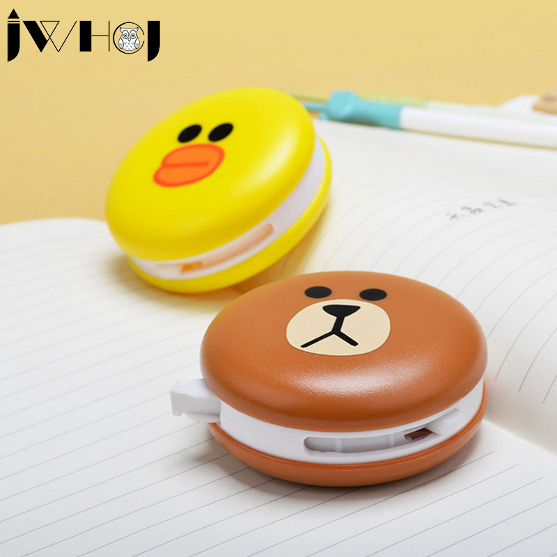 1 Pcs 8M Small Yellow Duck Brown Bear Correction Tape Material Escolar Stationery Office School Supplies Papelaria Gifts