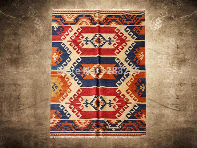 Tienda Online Alfombra alfombra kilim Bohemia piso dormitorio ...
