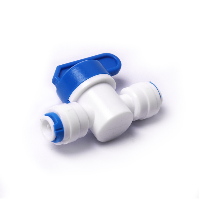 1/4″ Ball Valve Inline Tap Quick Connect Push Fit for RO Water Reverse Osmosis €4.99 Fittings Reverse Osmosis Spare Parts