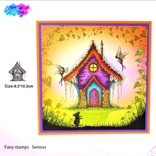 fairy house Silicone Transparent Rubber Stamp clear Stamps DIY Scrapbooking paper card making