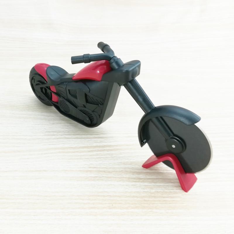 Motorcycle Pizza Cutter Wheel Stainless Steel Plastic Motorbike Roller Pizza Chopper Slicer Hot Sale