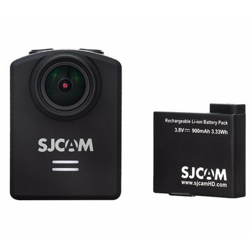 Original SJCAM 3.33Wh M20 3.8 mAh 900 V Li-ion Battery Preto para baterias M20 SJCAM Esporte Acessórios para Câmara