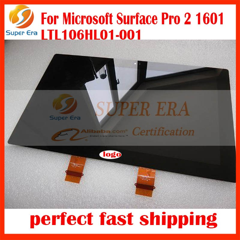 New Brand LCD Display for Microsoft Surface Pro 1514 Pro 2 1601 LTL106HL01-001 Tablet LCD Screen digitizer panel perfect testing new original for microsoft surface pro 1514 pro 2 1601 ltl106hl01 001 lcd display touch screen digitizer lens free