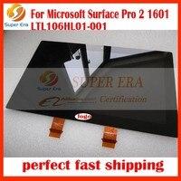 Nowy Marka Wyświetlacz LCD dla Microsoft Surface Pro 1514 Pro 2 1601 Tablet Ekran LCD digitizer panel LTL106HL01-001 idealne badania