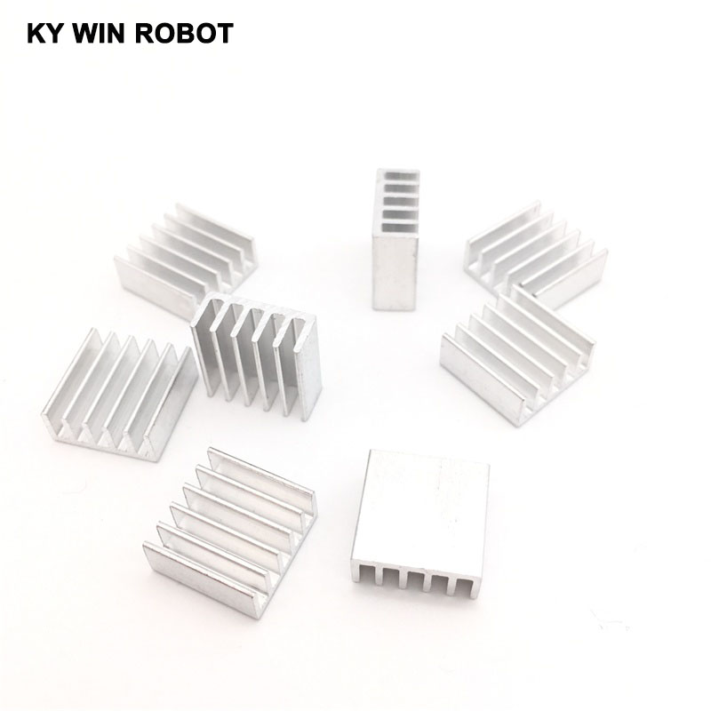50pcs Extruded Aluminum Heatsink 14x14x6mm For Chip VGA RAM LED IC Electronic Radiator COOLER Cooling