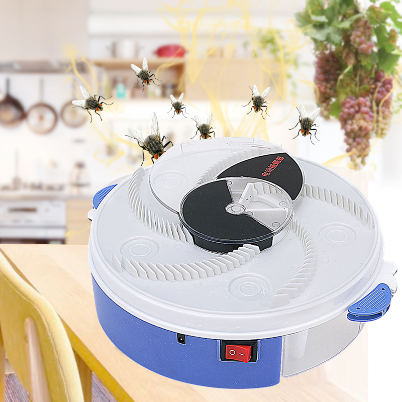 New Electric Flycatcher Pest Equipment Insect Catcher Automatic Flycatcher Outdoor Indoor Capture Insect Pest Collector Usb Plug