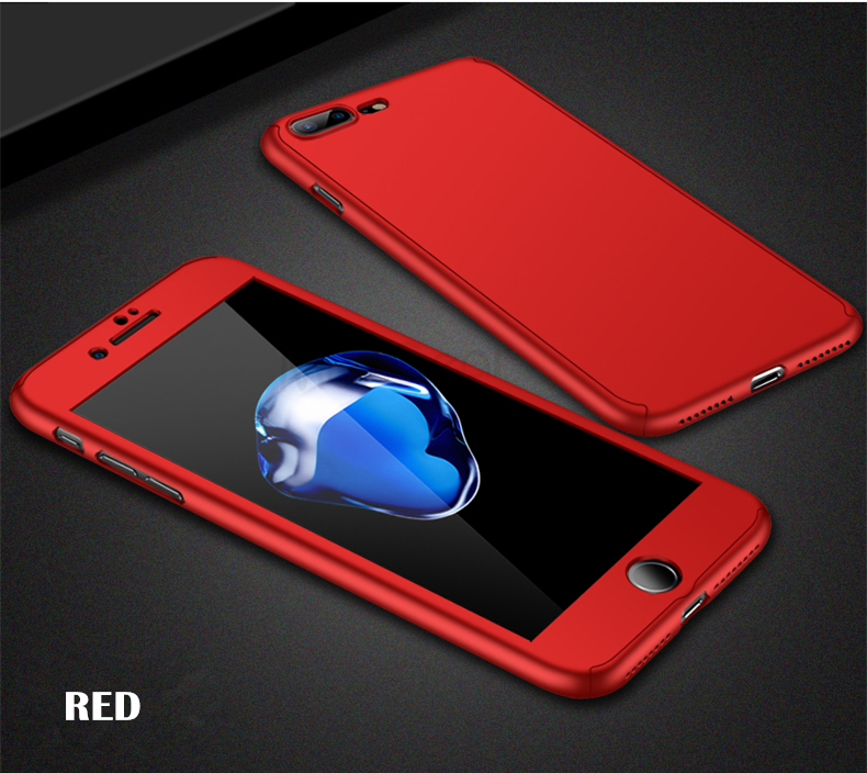 360 Full Protective Tempered Glass Cases