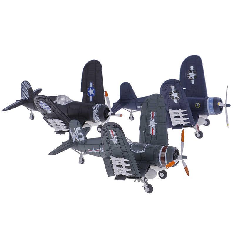 1Pcs 1/48 בקנה מידה להרכיב לוחם דגם צעצועי בניין כלי סטי Flanker מטוסי קרב מלחמת Diecast-השני אקראי צבע