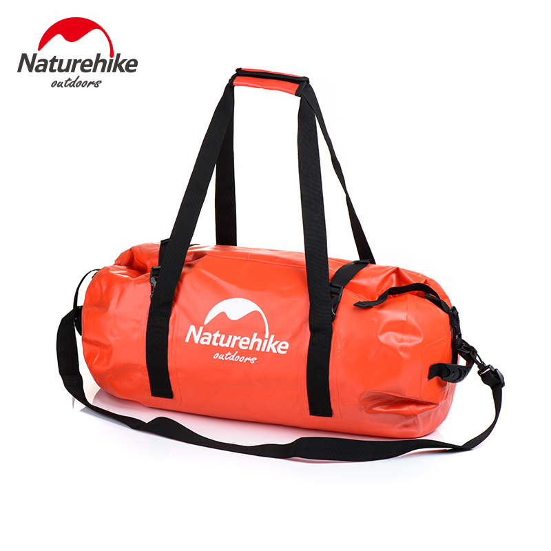 Naturehike 40L - 120L Large Capacity Waterproof Bag Drifting Shoulders Dry Bag Sport Duffel Bags NH16T002-S