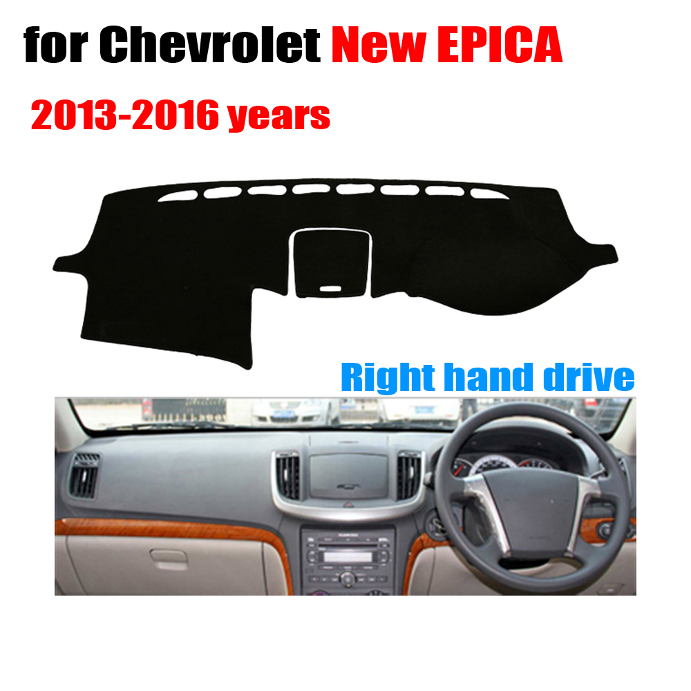 Car dashboard cover mat for Chevrolet New EPICA 2013-2016 Right hand drive dashmat pad dash covers auto dashboard accessories brand new car dashboard cover for audi tt dash cover mat right hand driver