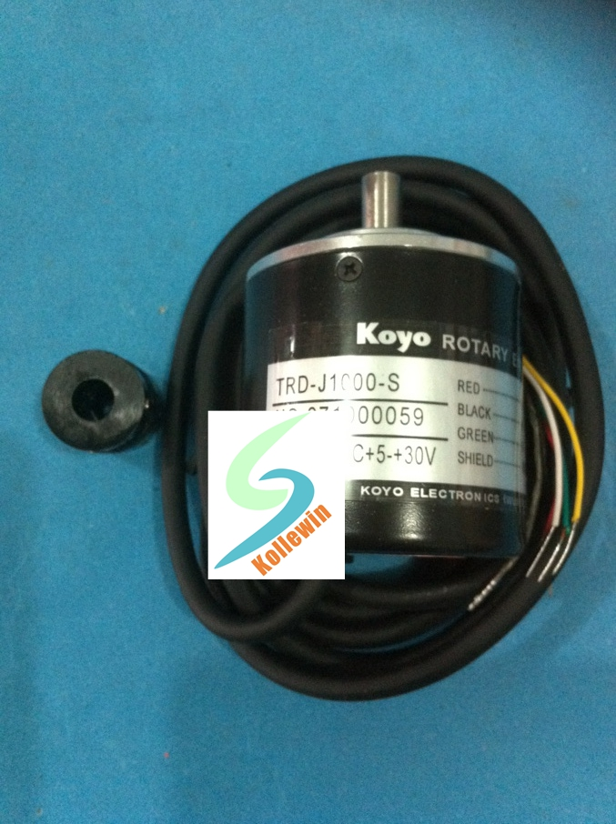 KOYO TRD-J1000-S Incremental Rotary Encoder NEW, 1000 P/R TRDJ1000S Free Shipping