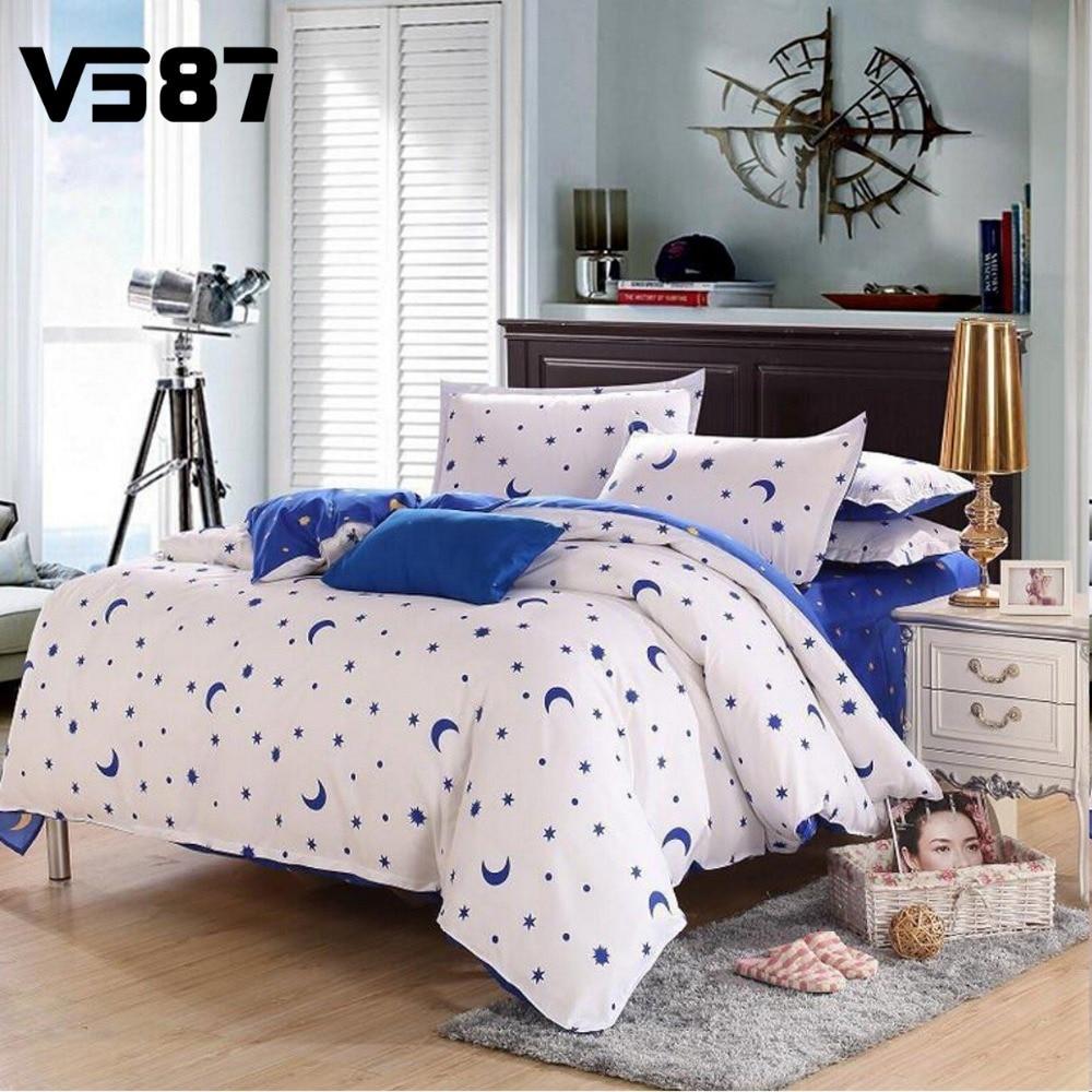 Modern quilt bedding - Hot 3pcs 4pcs Bed Quilt Duvet Cover Pillowcae Flat Sheet Bedding Bedclothes Sets Single