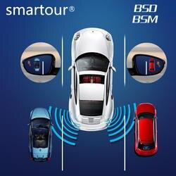 Smartour BSD BSM микроволновый датчик слепое точечное зеркало с питанием booed функция обнаружения слепого пятна радиолокационная система в