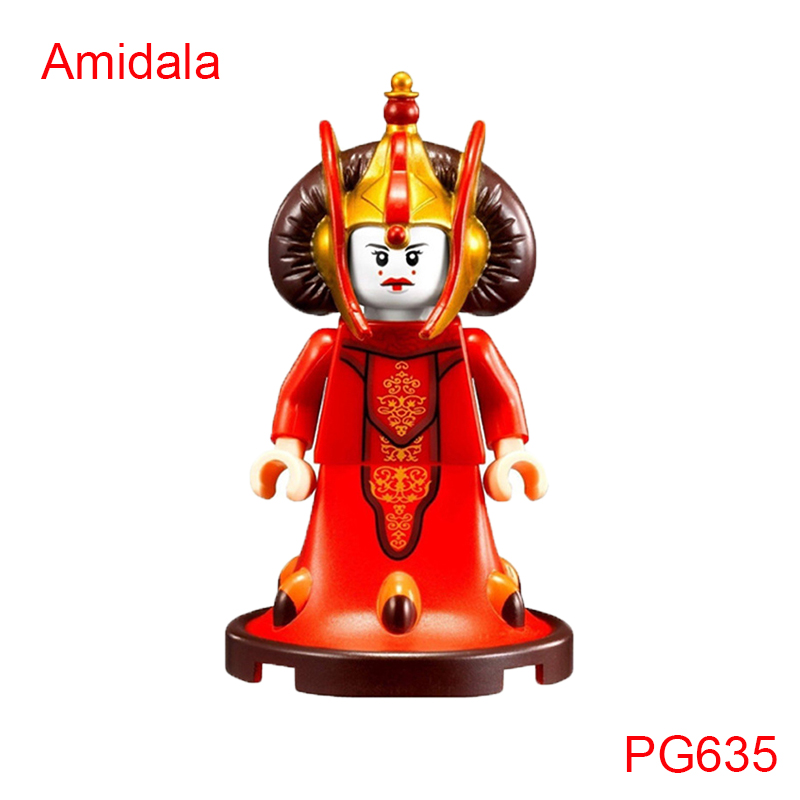 Queen Amidala 9499 Gungan Sub Building Block Luke Anakin C-3PO Legoelys Star Wars: The Force Awakens Toys Bricks For Kids