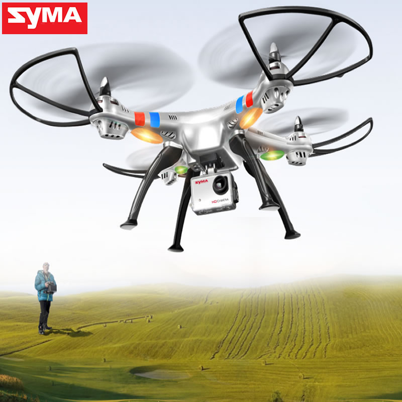 SYMA X8G Drones 2.4G 4CH 6 Axis Professional FPV Drone With 8MP(X8G) HD Camera Quadcopter Wifi Real-time Transmit RC Helicopter syma x8c 2 4g 4ch professional fpv quadcopter drone with hd camera wifi real time transmit control helicopter toy
