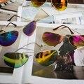 2016 Nuevo Diseñador de Moda Marca Hombres Mujeres Moda gafas de Sol de La Vendimia Gafas de Sol Del Conductor gafas gafas de sol masculino