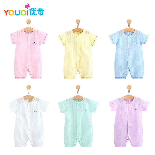 987d2f015885 Aliexpress.com   Buy YOUQI Summer Baby Rompers 100% Cotton Brand ...