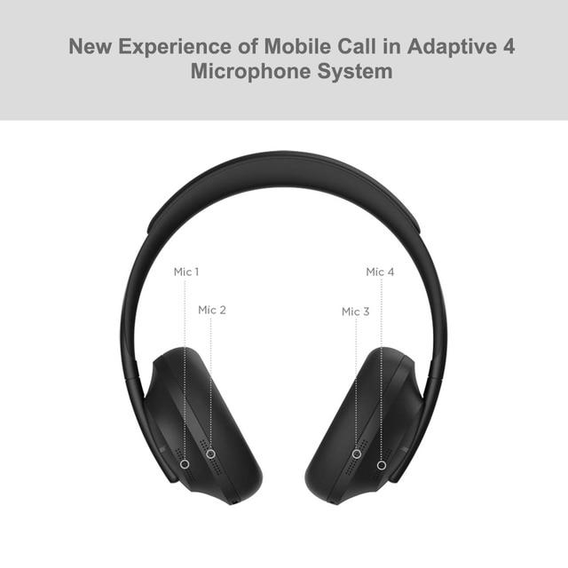 Bose 700 Noise Cancelling  Wireless Headset  Adaptive Mic System BOSE AR 4
