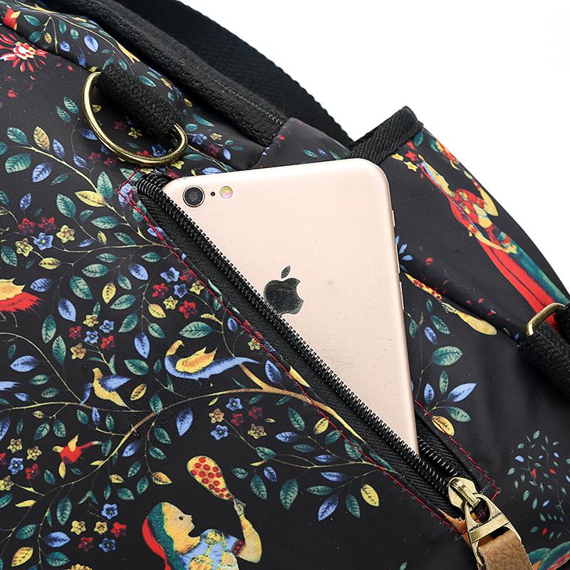 2019 New Women Emoji Shoulder Bag Best Travel Women Backpack Female Printing Waterproof School Knapsack mochila Bagpack Pack 23