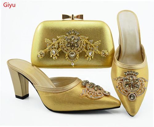 doershow Latest Women Shoes and Bag Set In Italy African Women Italian goldShoes and Bag Set Nigerian Shoes and bags set!HVC1-36doershow Latest Women Shoes and Bag Set In Italy African Women Italian goldShoes and Bag Set Nigerian Shoes and bags set!HVC1-36