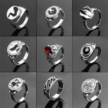 Dark Souls 3 Series Ring Men Women Silver Badge Rings Game Jewelry Fans Souvenir Gift