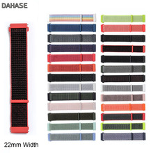 22mm 20mm Nylon Strap for Samsung Gear S3 S2 Sport Frontier Classic Watch Band Galaxy Watch 42mm 46mm Huami Amazfit Bip Strap 22mm watch band for samsung galaxy watch 46mm gear s3 classic huami amazfit watch silicone sport watch band strap 91011
