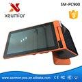 Android Mini Terminal punto de venta con Impresora Todo en Un Sistema POS Pantalla Táctil Android Restaurante SM-PC900