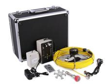 7D1 30M Sewer Waterproof Video Camera 7″ LCD Screen Drain Pipe Inspection DVR 12 Led W/ 4500MAh Battery