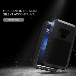Image 4 - Love Mei Brand Case For Xiaomi Mi MIX 2 Metal Shockproof Phone Cover For Xiaomi MIX2 MIX 2 Full Body Anti Fall Rugged Armor Case