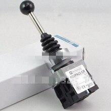 XD2PA22CR 2NO 2 Posiciones Momentáneo Retorno por Muelle Vástago Oscilante Joystick Reemplazar Telemecanique