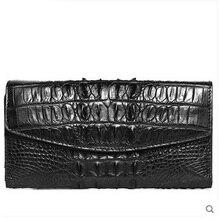 VV crocodile leather women Purse lady  large women bag  real crocodile leather star and women clutch bag