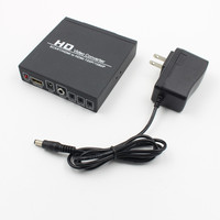 2018 new SCART+HDMI to HDMI+Digatal Audio SCART to HDMI converter support 1080P 720P