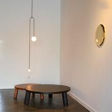 купить Nordic LOFT Chandelier Iron LED  Pendant Lamps Lights Dining Room Bar Living Room Vintage Hanging Lamps Kitchen Fixtures Bedroom по цене 6531.36 рублей