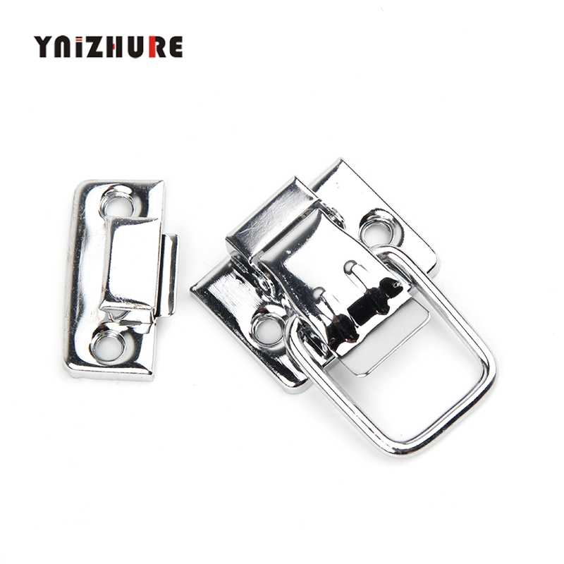 30*36mm Beauty Case,Box Clasp Buckle,Chrome Metal From Wooden Hasp Lock Child Obscura,Cosmetic Box Lock