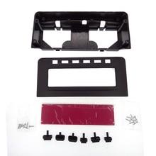 Fascia For Mitsubishi Pajero Sport Triton L200 Mornitor MID Radio DVD Middle Stereo Panel Dash Mounting Installation Trim Kit