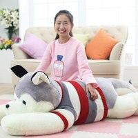 200CM Large Size Cute Husky Cushion Papa Plush Toy Dog Doll Oversize Dog Toys For Valentine