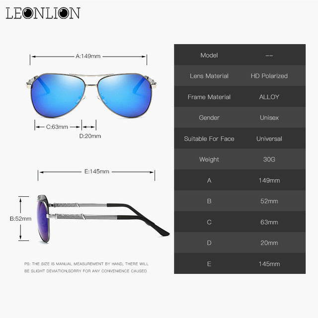 c6aa691d2a6 Online Shop LeonLion 2018 Alloy Pesca Polarized Mirror Sunglasses ...