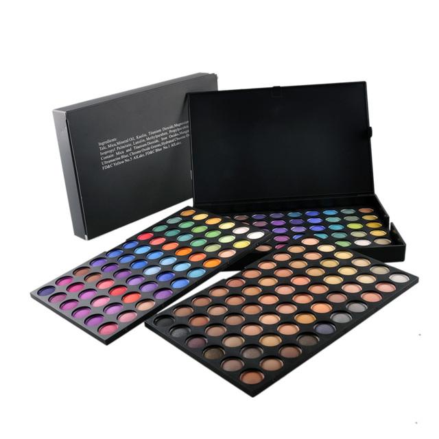 Envío de la Nueva 180 A Todo Color Con Encanto Mate Paleta de Sombra de ojos Cosméticos Sombra de Ojos Paleta de Maquillaje Profesional Caliente Perfecto